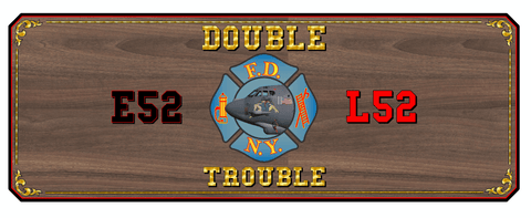 fdny e52 l52 custom logo table