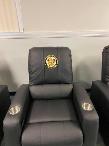 Gilchrist Custom Embroidered Theater Recliner