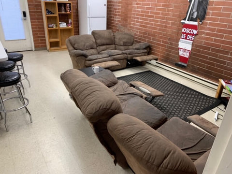 old firefighter sofas