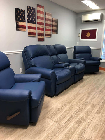 Timmonsville Rescue fire station recliner