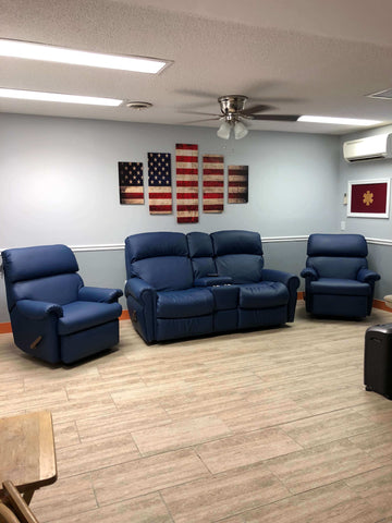 Timmonsville Rescue fire station chairs