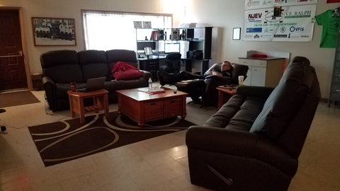 Washington Emergency Squad purchased The Ultimate Firefighter Recliner™ Double Reclining Sofa