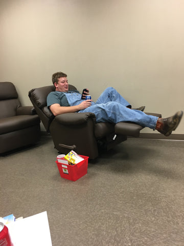 Silk Hope Vol Fire Dept purchased The Ultimate Firefighter Recliner