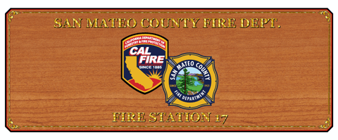san mateo station 17 custom logo fire station table