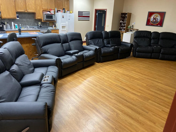 Smithville area fire protection district firefighter recliner