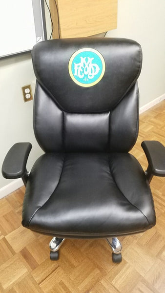 custom logo fire station chair