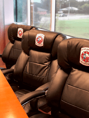 lancaster tx custom embroidered fire station chair