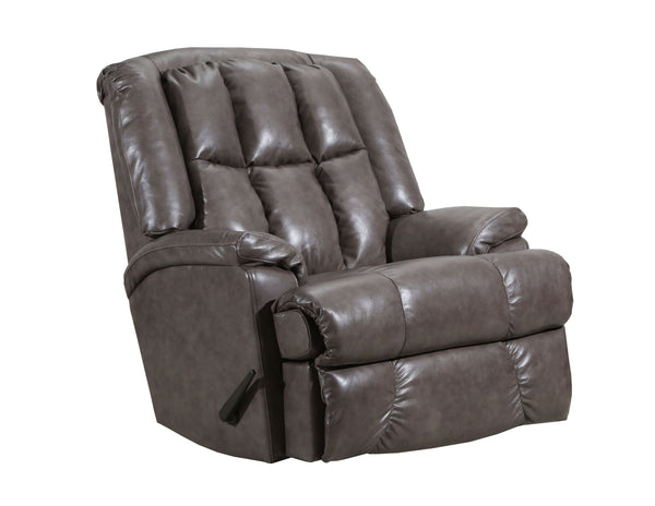 Duty-Built™ Squad Co. Heavy-Duty 500 lb. Genuine Leather Heavy-Duty Recliner - FREE SHIPPING with 2+ - Fire Station Furniture