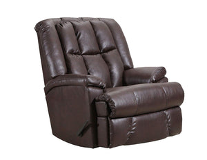 Duty-Built™ Squad Co. Heavy-Duty 500 lb. Leather Look Heavy-Duty Recliner - FREE SHIPPING with 2+ - Fire Station Furniture