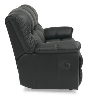 Duty-Built® Double Reclining Loveseat w/Console - FREE SHIPPING with 2+