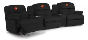 The Ultimate Firefighter Recliner™ Custom Embroidered Modular Theater Seating - FREE SHIPPING - Fire Station Furniture