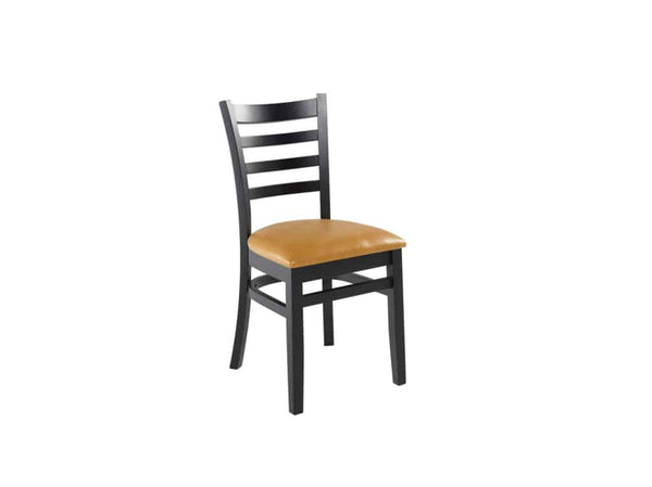 Firehouse Collection™ Ladder-Back Wood Dining Chair - Padded Seat