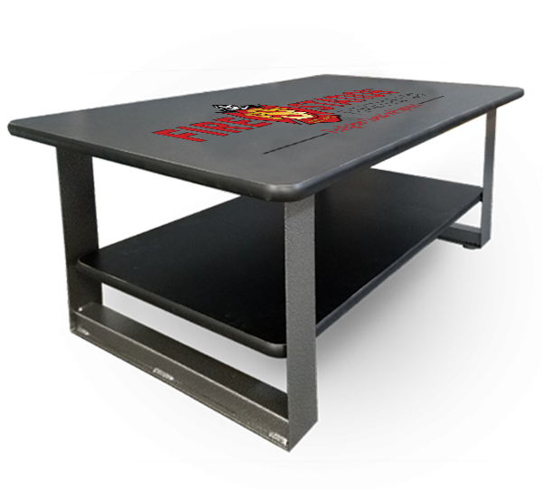 Duty-Built Custom Logo Coffee Table