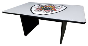 Custom Firehouse Logo Conference/Dining Table - Fire Station Furniture