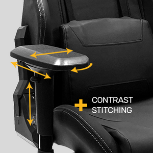 Duty-Built® CUSTOM EMBROIDERED Dispatch Chair - FREE SHIPPING with 2+