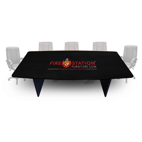 Duty-Built Custom Firehouse Logo Conference/Dining Table