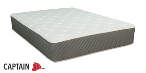 "Duty-Built® Captain 11"" All-Foam Mattress with Latex + Memory Foam"