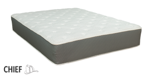"Duty-Built® Chief 12"" Hybrid Spring & Latex + Memory Foam Mattress"