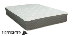 "Duty-Built® Firefighter 10"" All-Foam Mattress with Latex Foam"