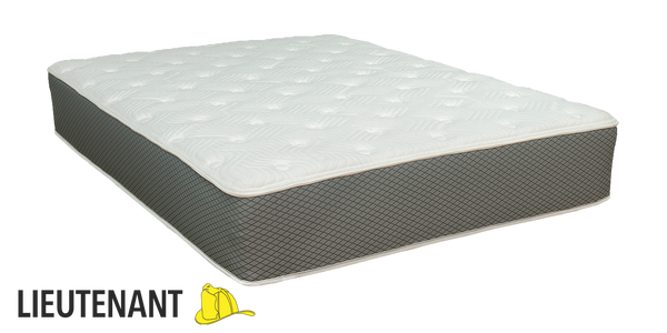 "Duty-Built® Lieutenant 12"" Hybrid Spring & Latex Foam Mattress"