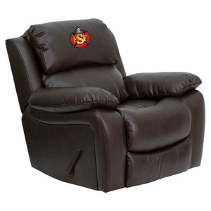 Duty-Built™ Engine Co. CUSTOM EMBROIDERED Heavy-Duty Rocker Recliner - FREE SHIPPING AVAILABLE* - Fire Station Furniture