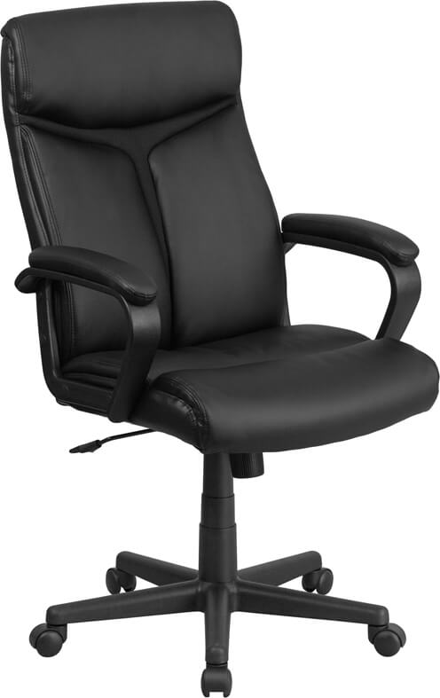 Duty-Built™ Station Basics High Back Executive Swivel Office Chair with Slight Mesh - FREE SHIPPING