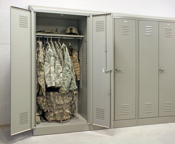 Patriot Metal Gear Locker - Fire Station Furniture
