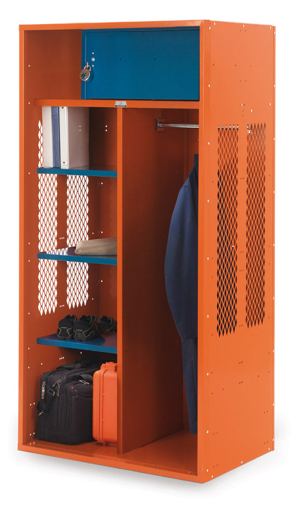Patriot Metal Turnout Locker w/Shelves - Fire Station Furniture