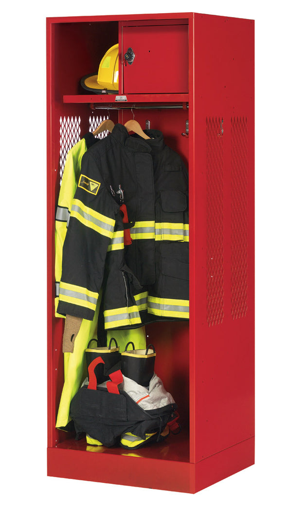 Patriot Metal Turnout Locker - Fire Station Furniture