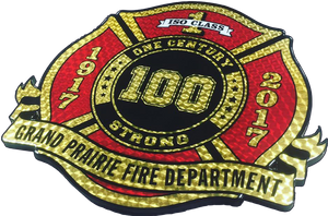Custom Logo Plaques & Awards - Fire Station Furniture