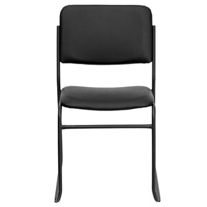 Duty-Built™ 1000 lb. Capacity High Density Stacking Chair with Sled Base - FREE SHIPPING