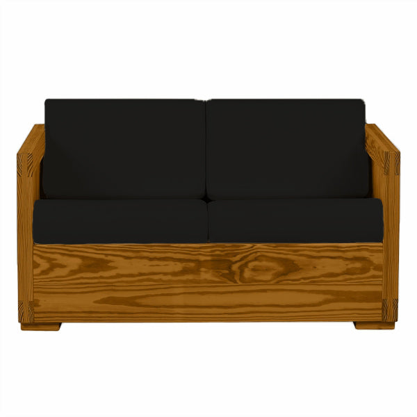 Firehouse Collection™ Solid Wood Loveseat - Fire Station Furniture