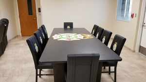 Custom Firehouse Logo Conference/Dining Table