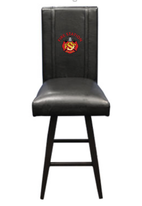 Duty-Built® CUSTOM EMBROIDERED Swivel Barstool - FREE SHIPPING with 2+