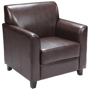 Duty-Built™ Heavy-Duty Leather Chair - Fire Station Furniture
