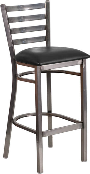 Duty-Built™ Commercial Barstool - Padded Seat - Fire Station Furniture
