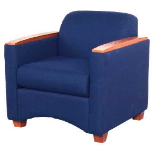 Firehouse Collection Upholstered Lounge Chair - Fire Station Furniture
