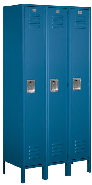 Standard Metal Locker - 3 Wide - Fire Station Furniture