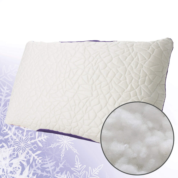 Snow Cooling Pillow with Down Alternative Fill - Fire Station Furniture