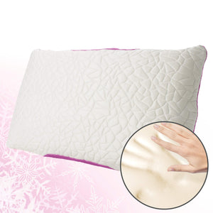 Snow Cooling Pillow with Memory Foam Fill - Fire Station Furniture