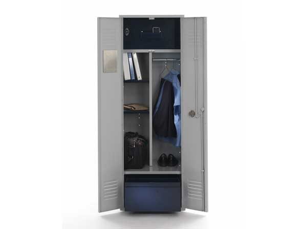 Patriot Metal Gear Locker w/Shelves - Fire Station Furniture