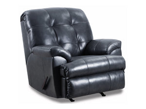 Duty-Built® Station Basics Top-Grain Leather Rocker Recliner - FREE SHIPPING with 2+