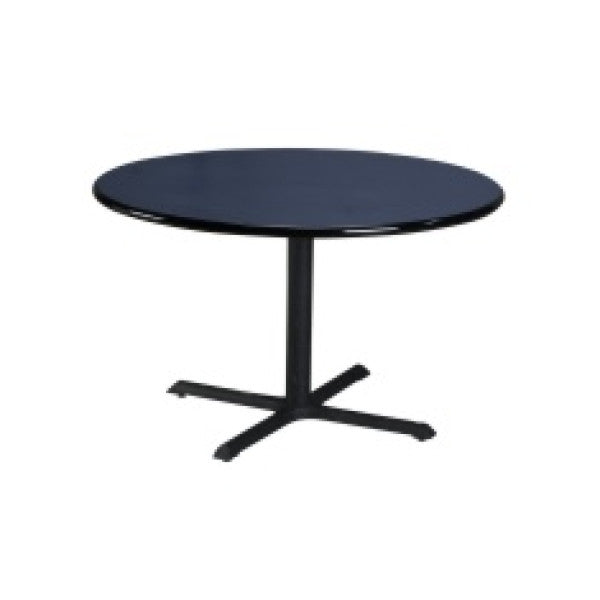 "Round 48"" Laminate Top Dining Table - Fire Station Furniture"