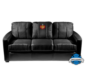 Duty-Built® CUSTOM EMBROIDERED Stationary Sofa - FREE SHIPPING with 2+ (Available without logo)