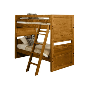 Firehouse Collection™ Convertible Bunk Bed - Solid End - Fire Station Furniture