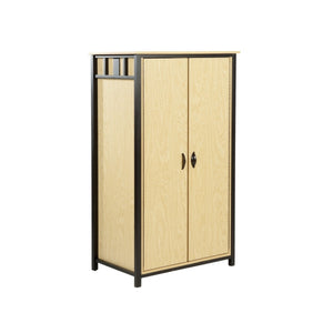 Steel Collection Large Wardrobe - Fire Station Furniture