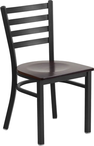 Duty-Built™ Commercial Dining Chair - Wood Seat - Fire Station Furniture