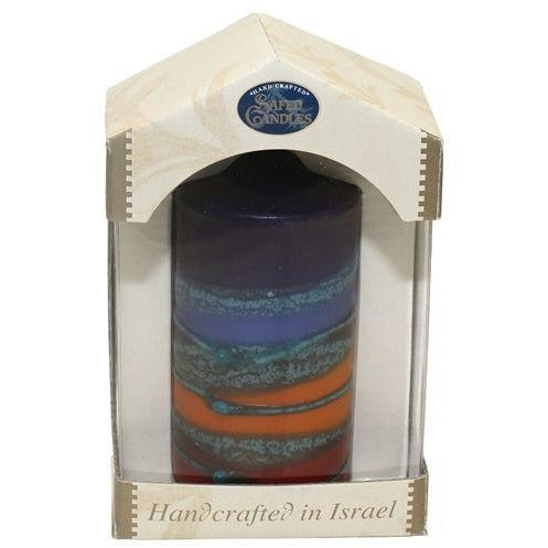 Safed Taper Candles - Large