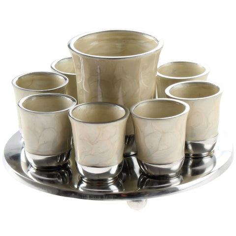 10 Piece Shot Glass Set with Tray