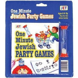 One Minute Jewish Party Games